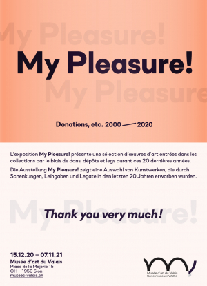 My pleasure ! Donations, etc. 2000-2020